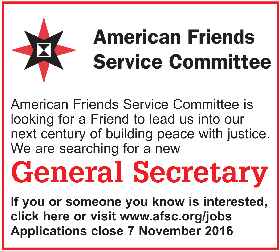 American Friends Service Committee