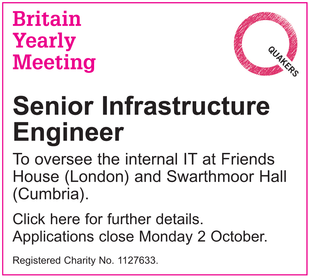 Senior Infrastructure Engineer