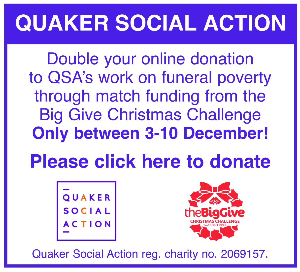 QSA Double Donation