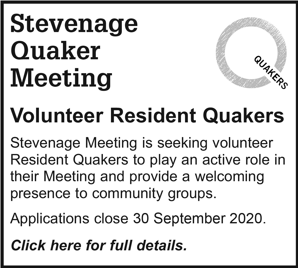 Stevenage Resident Quakers